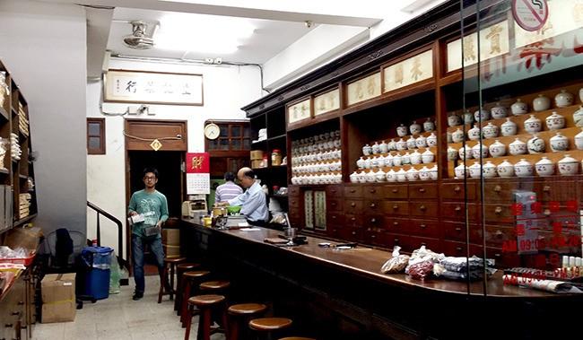 台湾の漢方薬市場