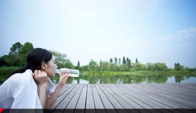 お水をたくさん飲みましょう